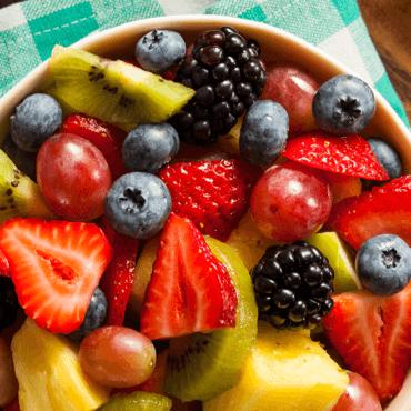 CBD Honey Fruit Salad